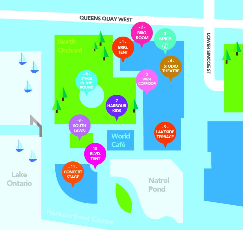 TAIWANfest Map - Toronto